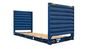 contenedor 20 flat rack hc