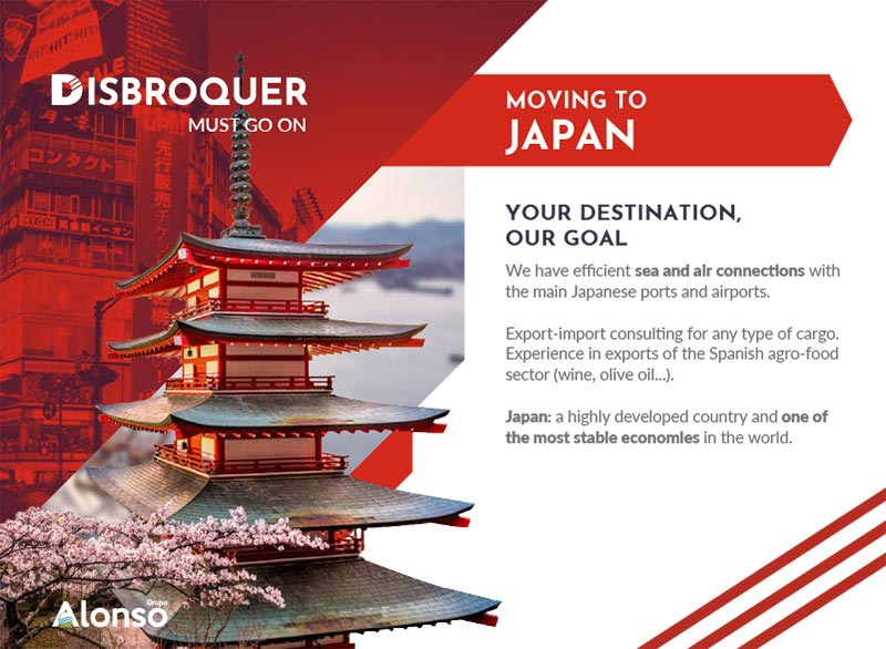Disbroquer - Moving to Japan