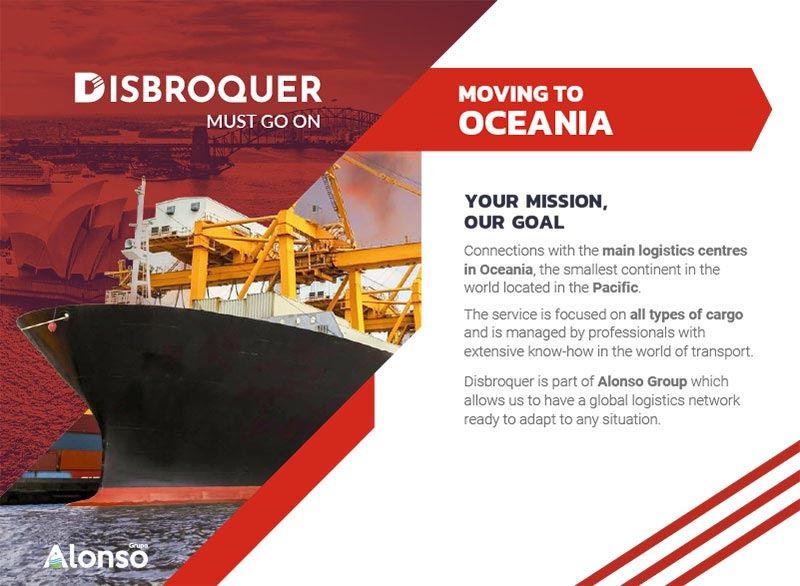Disbroquer - Moving to Oceanía