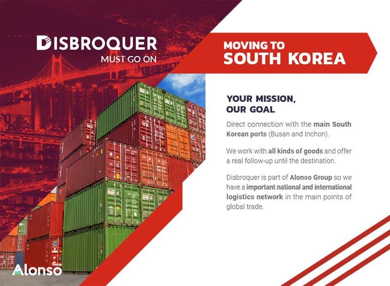 Disbroquer - Moving to South Corea